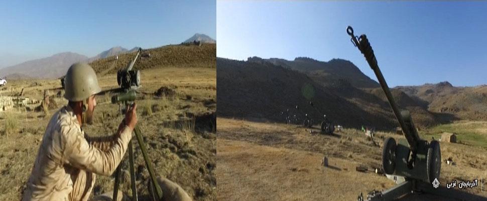 İran, Kuzey Irak sınırında askeri tatbikat başlattı