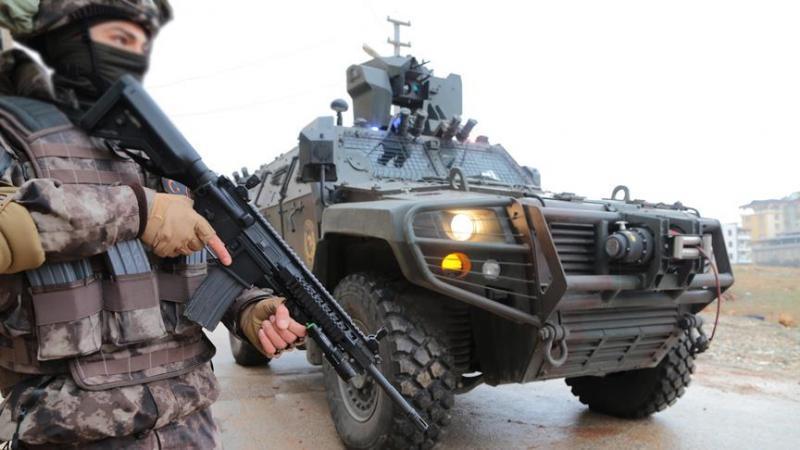 Teröristlerin sınır ötesinden taciz ateşlerine anında karşılık