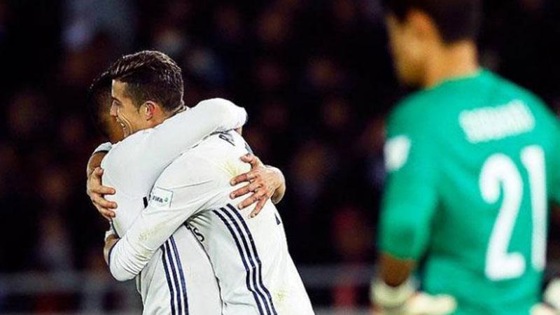Dünya kulüpler şampiyonu Real Madrid