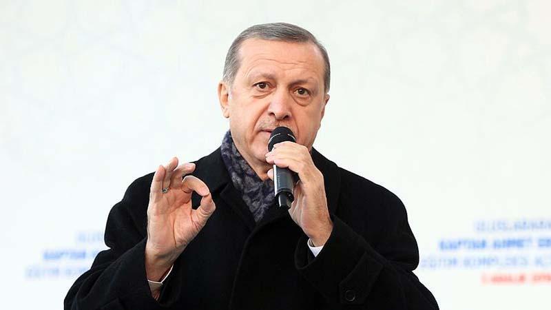 Erdoğan Avrupa'ya seslendi: PKK paçavralarına sahip çıkmayın!
