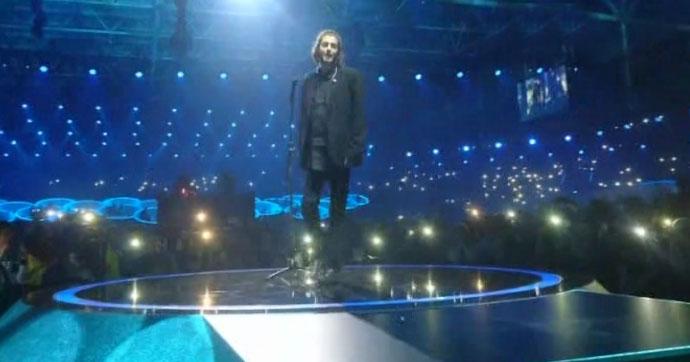 Eurovizyon'un şampiyonu Portekiz