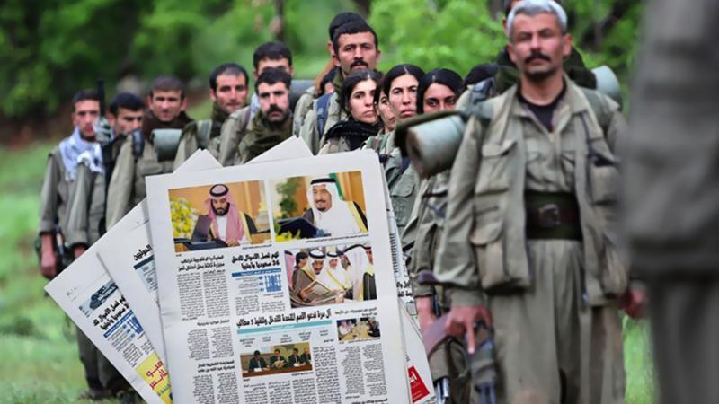 PKK/PYD'nin güvenlik kulelerini Suudiler finanse edecek