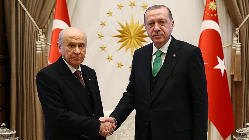 Erdoğan ve Bahçeli arasındaki ittifak zirvesi ile ilgili ilk açıklama