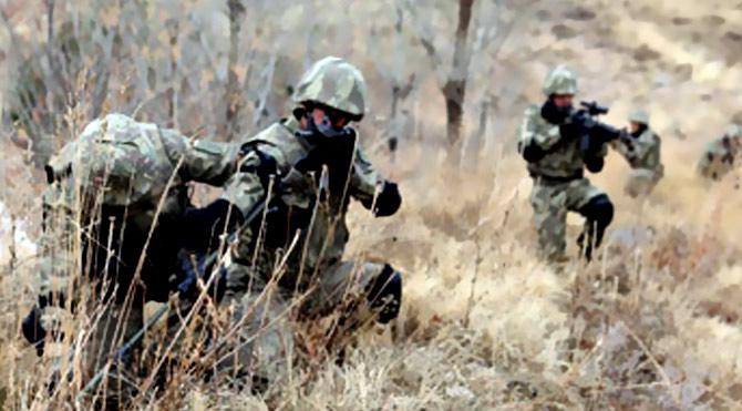 Kulp'ta 2 PKK'lı terörist öldürüldü