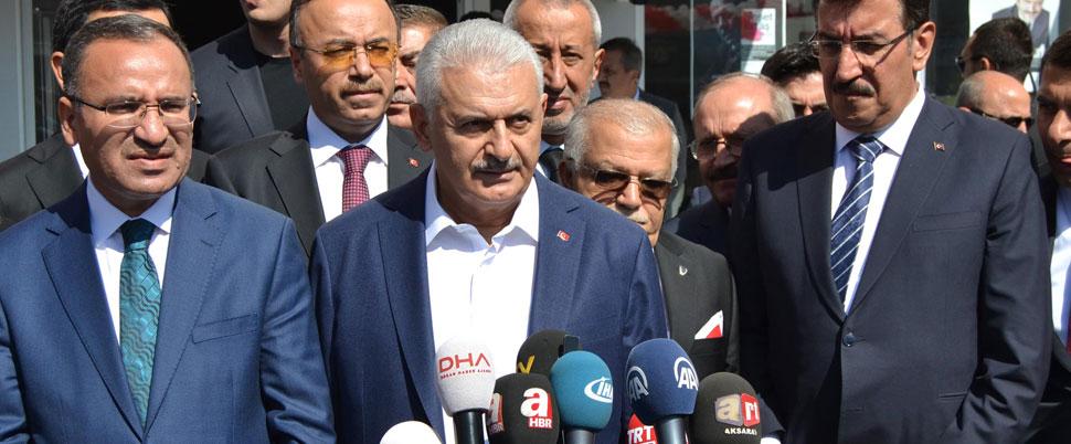 Başbakan Yıldırım'dan Barzani'ye sert tepki