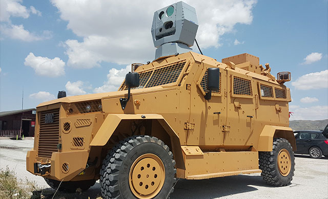 ASELSAN'ın geliştirdiği ''lazer savunma sistemi'' başarıyla sonuçlandı