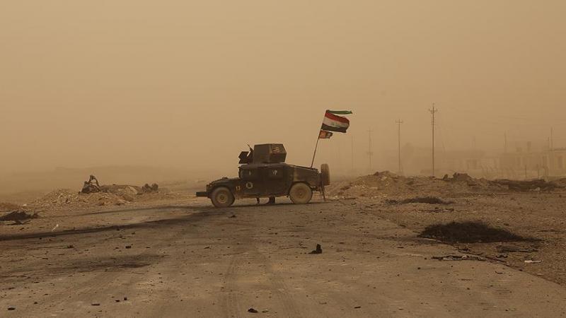Irak güçleri Suriye sınırına ulaştı