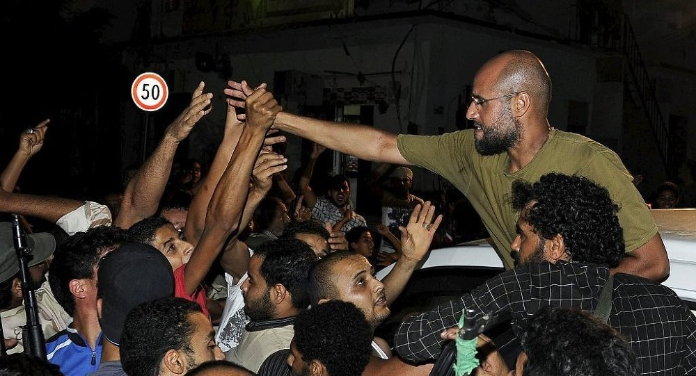 Kaddafi'nin oğlu Seyfulislam serbest bırakıldı
