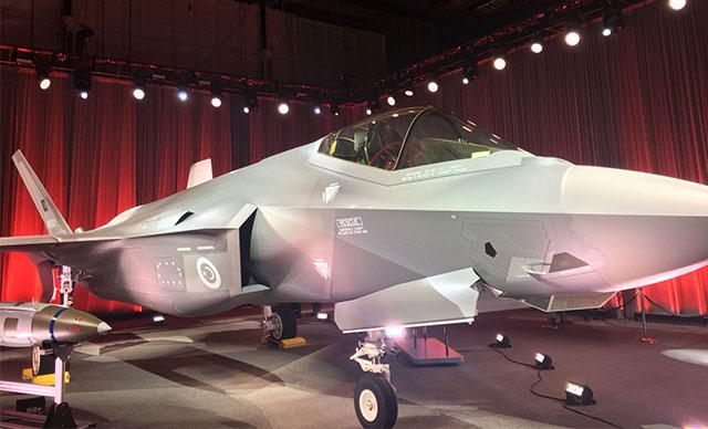 Türkiye ilk F-35'i teslim aldı