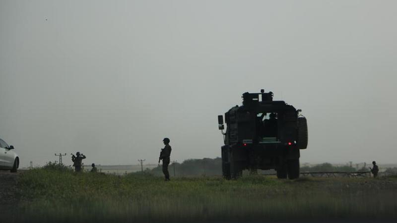 Hudut karakollarına YPG saldırısı