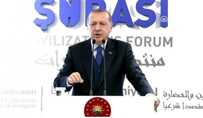 Erdoğan'dan ABD'ye sert sözler