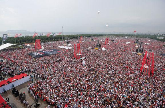 Cumhurbaşkanı adayı İnce Milyonlara konuştu
