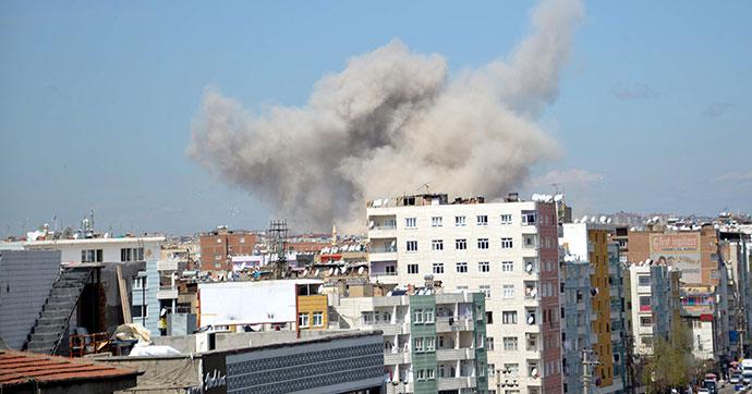 Diyarbakır'da panzer tamiri sırasında patlama