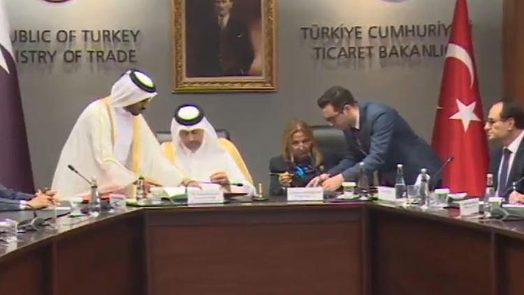 Türkiye ile Katar arasında serbest ticaret anlaşması imzalandı