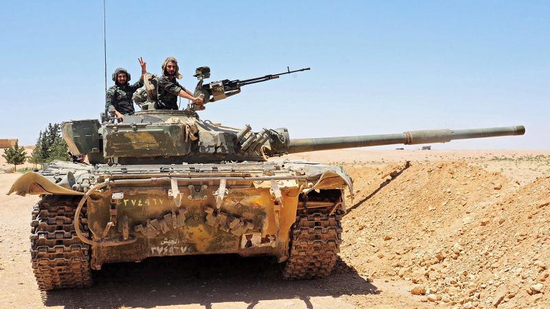 Suriye ordusu IŞİD'in kalesini aldı