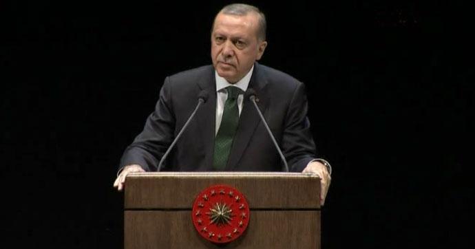 Erdoğan'dan Kaftancıoğlu tepkisi: Gazi Mustafa Kemal'in kurduğu parti ne hale geldi