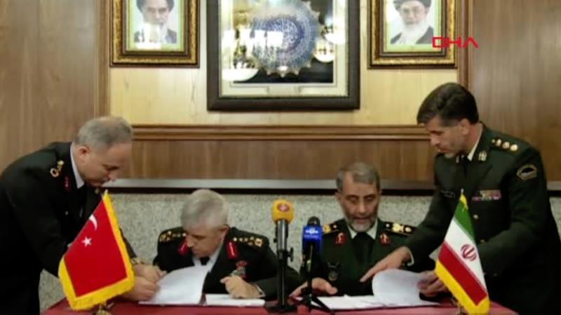 İran ve Türkiye'den teröre karşı işbirliği