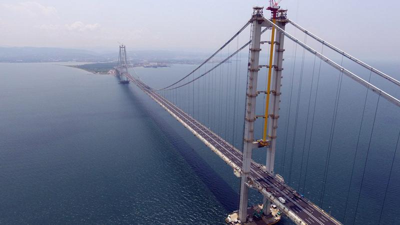 Osmangazi Köprüsü'nde 50 günlük zarar: 225 milyon lira