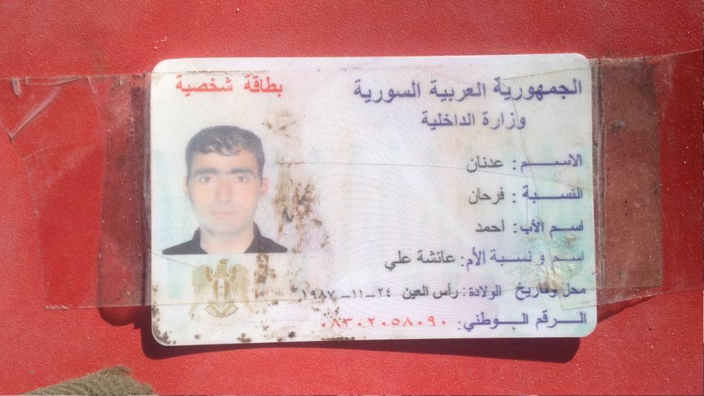 Etkisiz hale getirilen teröristten Suriye kimliği çıktı
