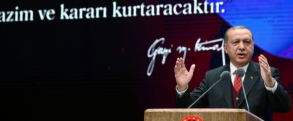 'Birileri Atatürk'e Atatürk dedik diye...'