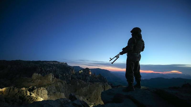Tunceli-Ovacık kırsalında yapılan operasyonda 6 teröristi ölü olarak ele geçirildi
