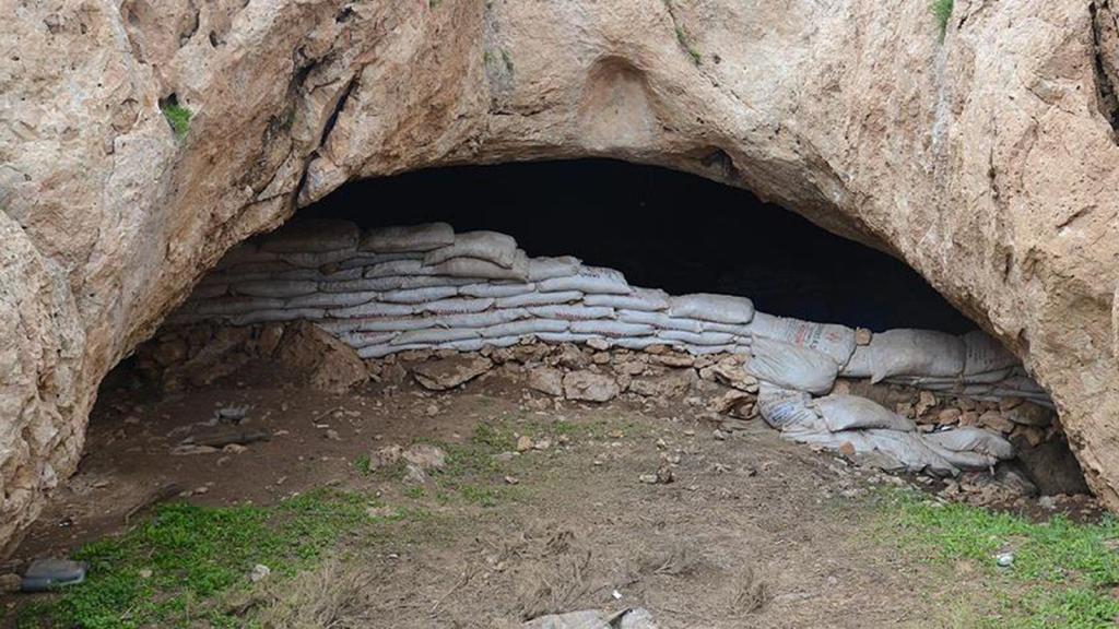 Siirt' te PKK'ya ait 25 ton malzeme ele geçirildi