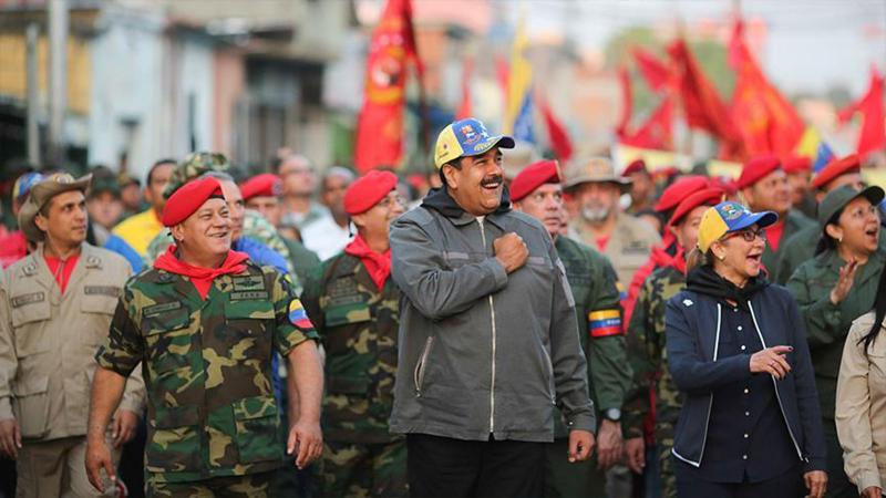 Venezuela Devlet Başkanı Maduro: Vatanımızı asla teslim etmeyeceğiz