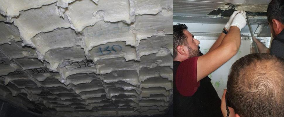 Mersin'de bir gemide 24 milyon TL'lik kokain ele geçirildi
