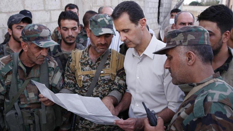 ABD'nin takviyesi Esad'dan dönüyor