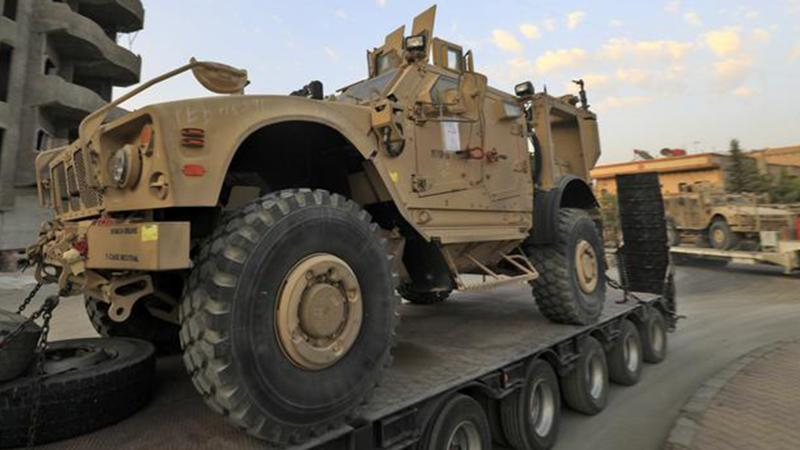 ABD, Suriye'deki PKK/YPG bölgelerine yığınağı artırdı
