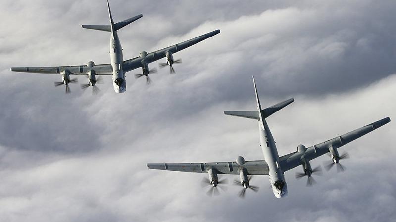 Rus savaş uçakları ABD semalarında: ABD jetleri havalandı