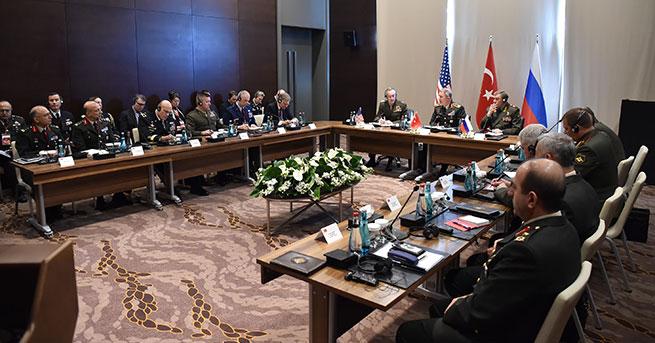 Antalya'da Suriye ve Irak zirvesi