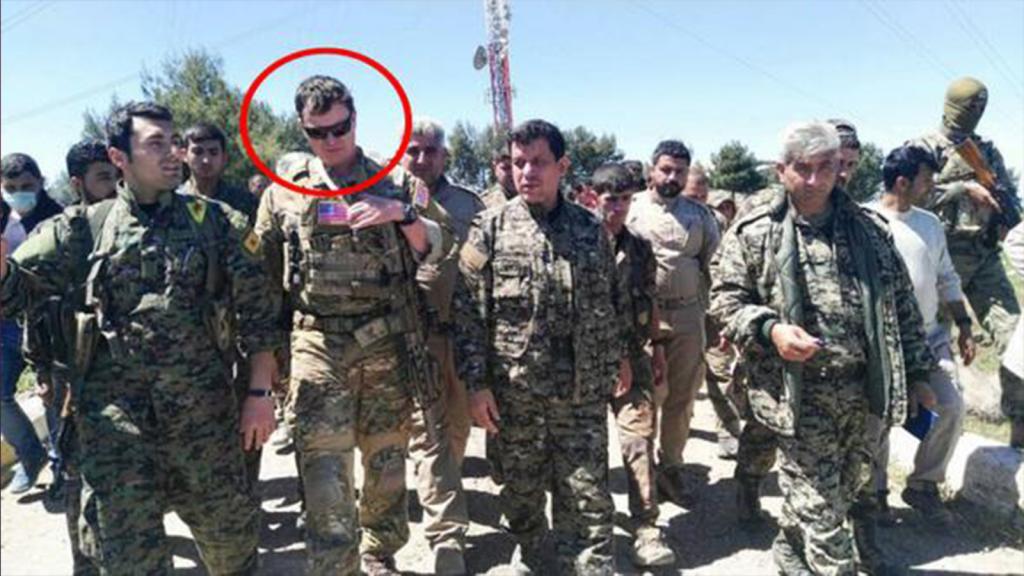 TSK vurdu, ABD'li subay PKK kampına koştu