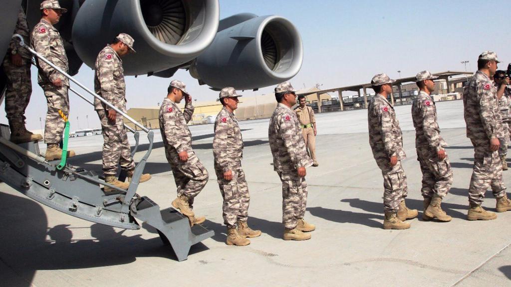 Türkiye'den Katar'a 3. askeri sevkiyat