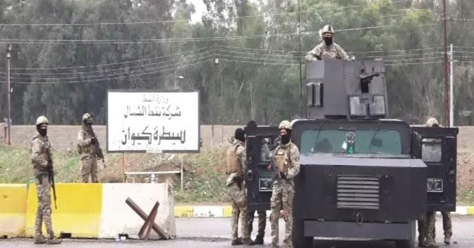 Irak'ta KYB petrol istasyonunu ele geçirdi