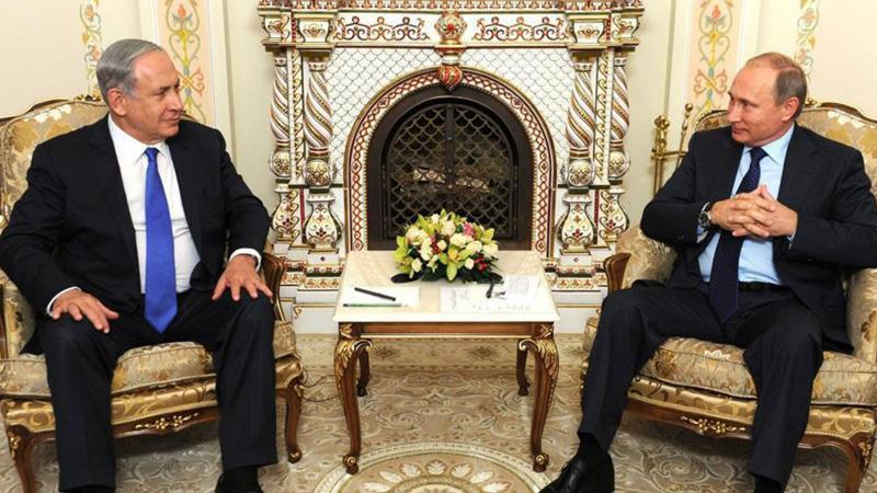 Putin ve Netanyahu Suriye'yi görüştü