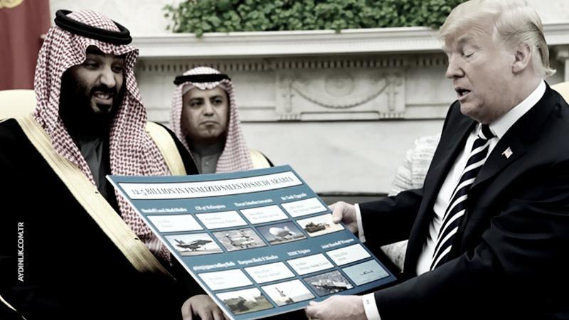 ABD'den Suudi Arabistan'a 32 milyar dolarlık silah satışı