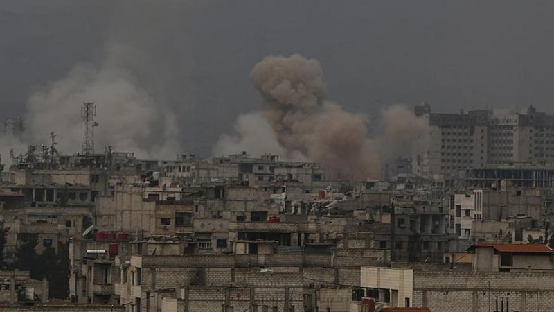 'Doğu Guta'daki teröristler sivillerin tahliyesini engelliyor'