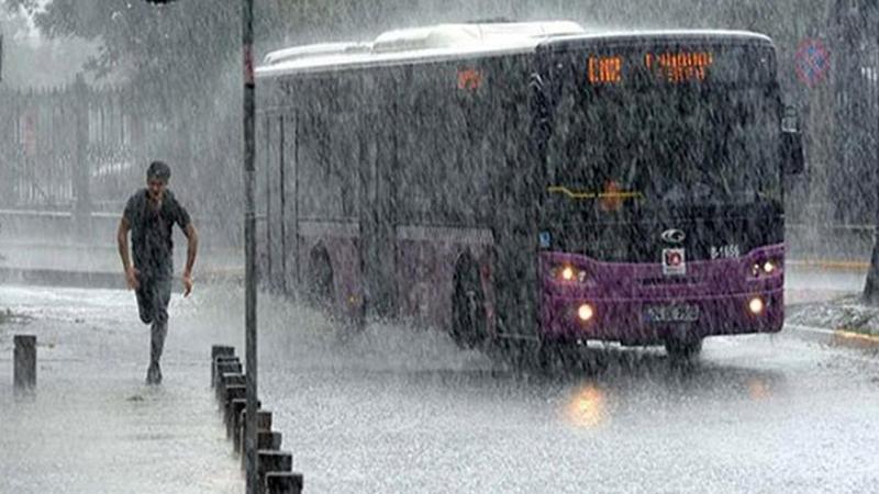 İstanbul'a 'yağış' uyarısı