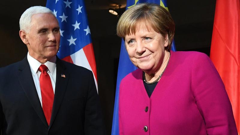 Münih'te Merkel ve Pence atışması! AB-ABD çatlağı söz düellosuna döndü