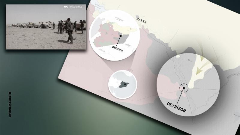 Pentagon: Rusya PKK/PYD'yi vurdu