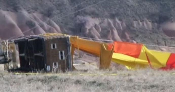 Kapadokya'da balon kazası!.. Ölü ve yaralılar var!