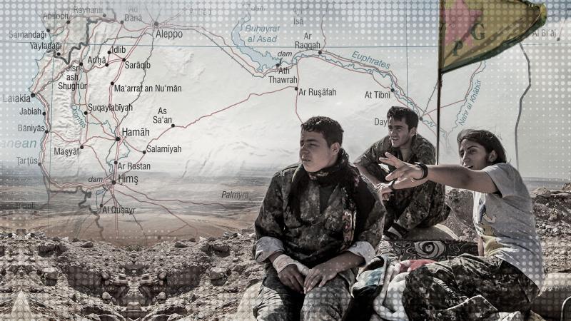 ABD'nin Suriye haritasında dikkat çeken detaylar