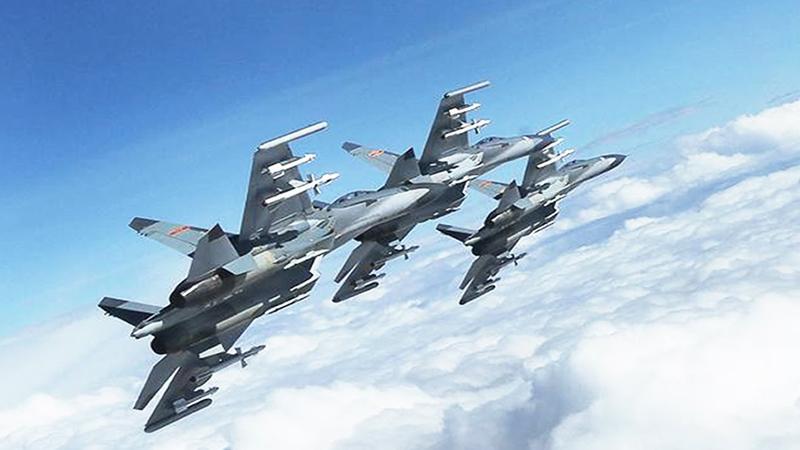 Çin'e ait bombardıman uçakları ABD'yi korkuttu