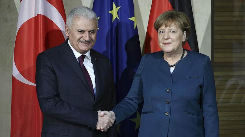 Başbakan Yıldırım Almanya Başbakanı Merkel ile görüşecek