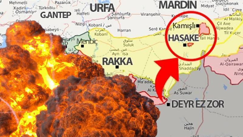 Suriye'de ABD konvoyuna saldırı!