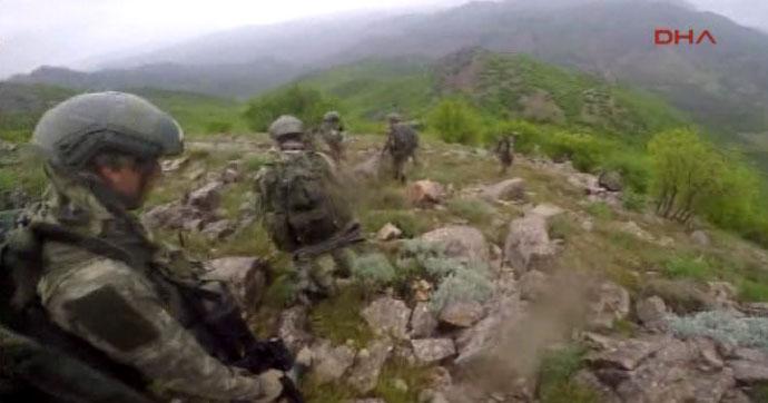 Lice'de 4 PKK'lı öldürüldü