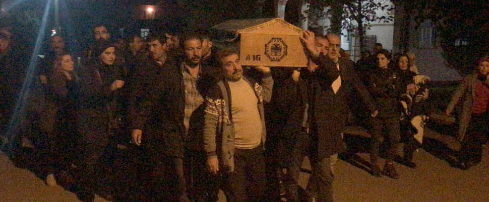 PKK'nın üst düzey yöneticisinin cenazesine HDP'li vekiller de katıldı