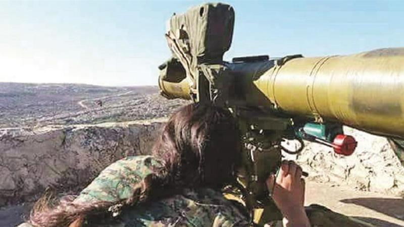 ABD'nin PKK/PYD'ye verdiği silahlar görüntülendi!