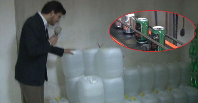 İstanbul'da ele geçirildi!.. Teneke kutularda piyasaya sürüyorlar!